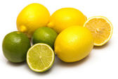 Different citrus fruits — Stock Photo