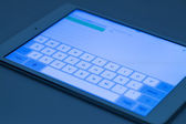 Tablet pc keyboard — Stock Photo