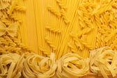 Uncooked macaroni — Stock Photo