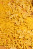Uncooked macaroni — Stockfoto