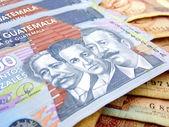 Dinero guatemala — Foto de Stock