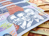 Geld guatemala — Stockfoto