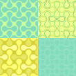 Seamless  Puzzle Wallpaper Pattern - Imagen vectorial