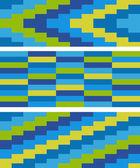 Patrón de mosaico de color — Vector de stock