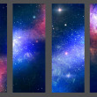 Patterns nebula — Stock Photo
