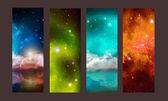 Patterns of cosmic — Stok fotoğraf