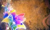 Flower Grunge — Stockfoto