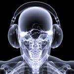 Skeleton X-Ray - DJ 3 — Stock Photo