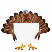 Toon Turkey Sign — Stock Photo