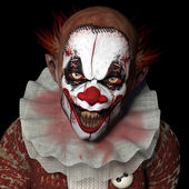 Scarier Clown 1 — Stock Photo