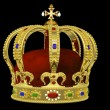 Royal Crown with Jewels — Stock Photo