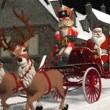 Santa's Carriage — Stock Photo