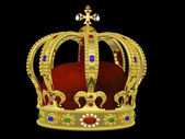 Royal Crown with Jewels — Foto Stock