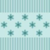 Mönster i blå toner för presentpapper — Stockfoto