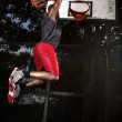 Stock Photo: Basketball player.