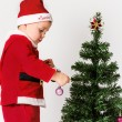 Santa Baby boy — Stock Photo #40434439
