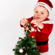 Santa Baby boy — Stock Photo