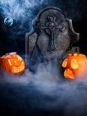 Dynie Halloween — Zdjęcie stockowe