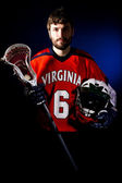 Jugador de lacrosse — Foto de Stock
