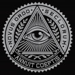 All Seeing Eye Vector — Vector de stock