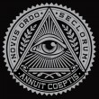 All Seeing Eye Vector — 图库矢量图片