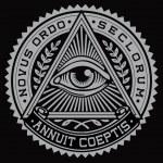 alle zien oog vector — Stockvector