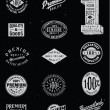 Vintage Labels — Vector de stock #27056717