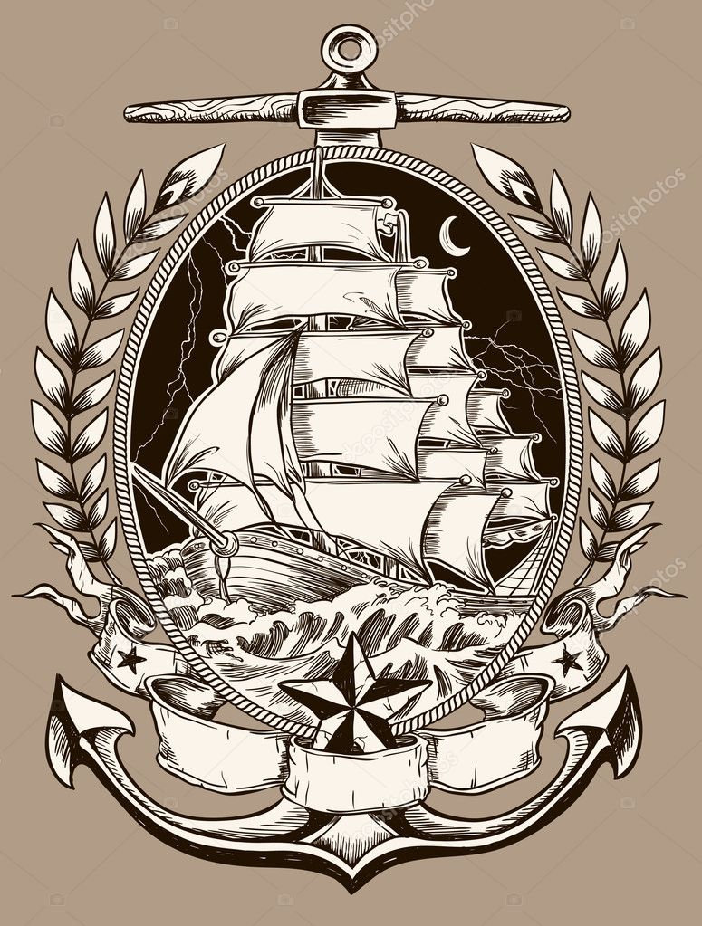 Tattoo Style Pirate