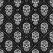 Day of the Dead Seamless Pattern — Stock Vector #44111075