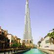 Burj Khalifa toew in Dubai - Stock Photo