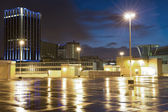 Birmingham city after the rain — Stock Photo