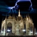 Постер, плакат: The dome in Milan