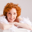 Royalty-Free Stock Photo: Redhaired woman