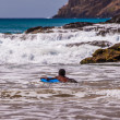 Stock Photo: Surfing