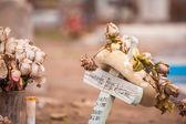 Cenaze çelengi — Stok fotoğraf