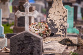 Funeral wreath — Stock Photo