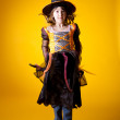 Little witch — Stockfoto