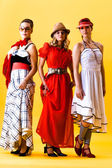 Three women — Stock Photo