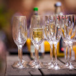 Champaign glasses — Stock Photo #25677035