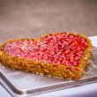 strawberry cake&quot — Stock Photo
