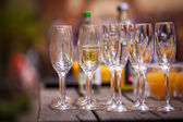 Champaign glasses — Stock Photo