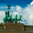 Foto Stock: Brandenburg Gate