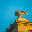 Stone eagle in Berlin — Stock Photo