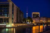 Berlin skyline — Stock Photo