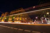 Drukke straat in berlijn — Stockfoto