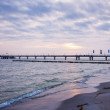 Pier at Baltic Sea — Stock Photo