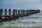 壊れた桟橋 — ストック写真