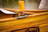 парусная лодка — Стоковое фото