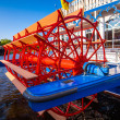 Nostalgic steamboat — Stock Photo