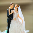 Bridal couple figurine — Stock Photo